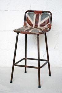 exotique - SG-47 - scaun bar, fier forjat piele si mat textil, 41x46x94cm - 950ron (536x800)