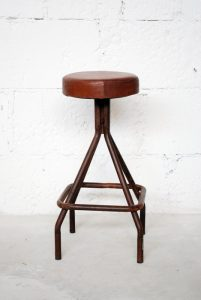 exotique - SG-58 - scaun bar, fier forjat si piele, 34x34x73cm - 1150ron (536x800)