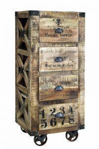exotique - SG-60 - dulap, lemn si metal, 53x42x123cm - 2010ron (536x800)