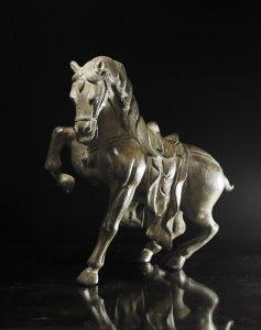 exotique - VT-BR2 - statueta bronz - cal