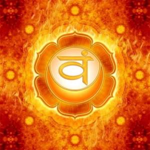2. Chakra sacrala -  Swadhisthana