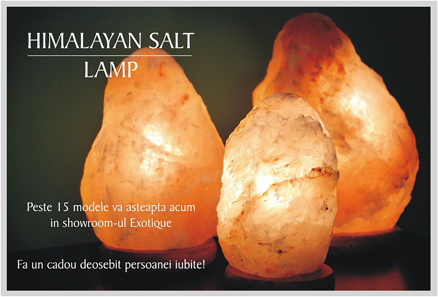 Cristale de Sare din Himalaya